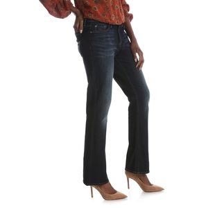 Lee Mid Rise Bootcut Dark Wash Jeans